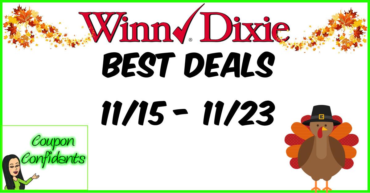 Winn Dixie Best Deals - 11/15 - 11/23