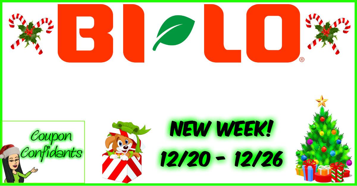 Bi-lo BEST Deals 12/20 - 12/26