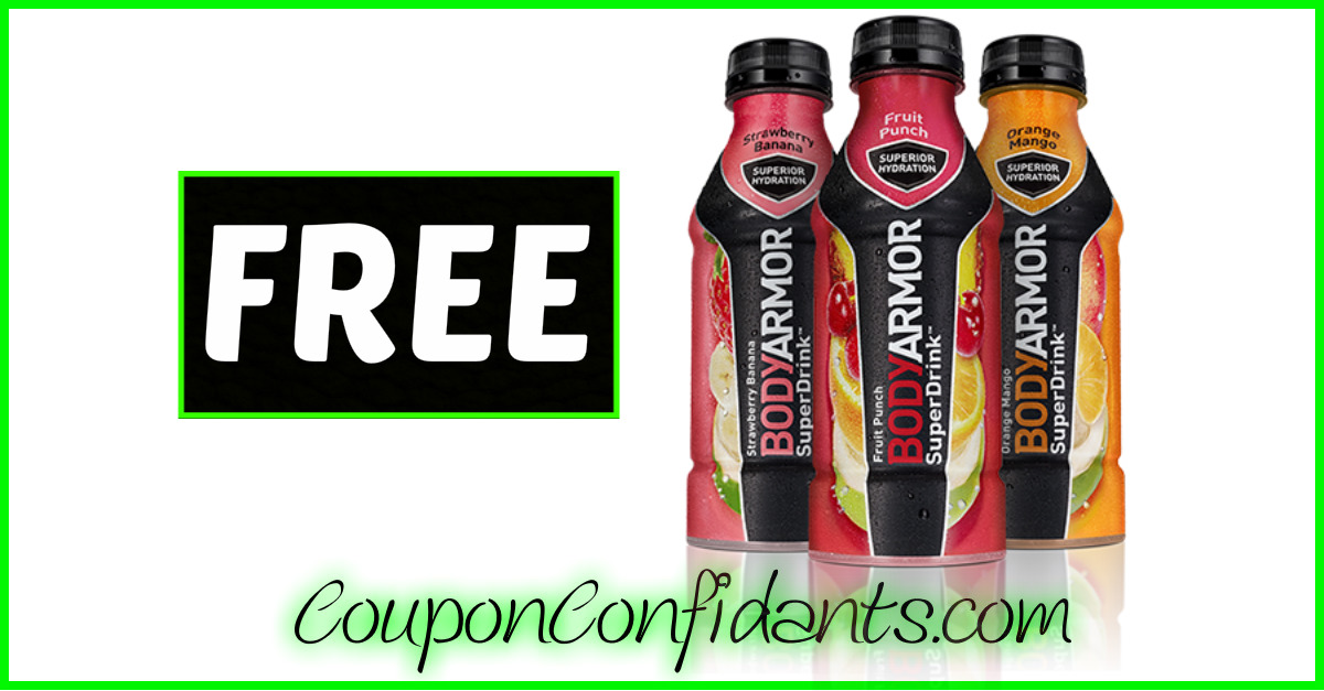FREE BodyArmor at Bi-lo!