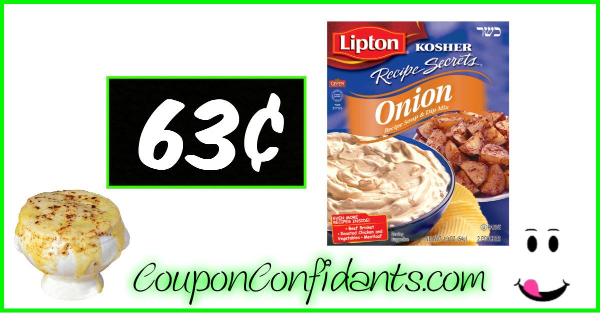 Lipton Recipe Secrets - 63¢ at Bi-lo!! (Some Winn Dixie too!)