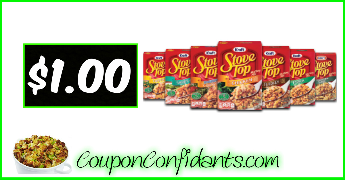 Stove Top Stuffing $1.00 - Bi-lo and Winn Dixie!