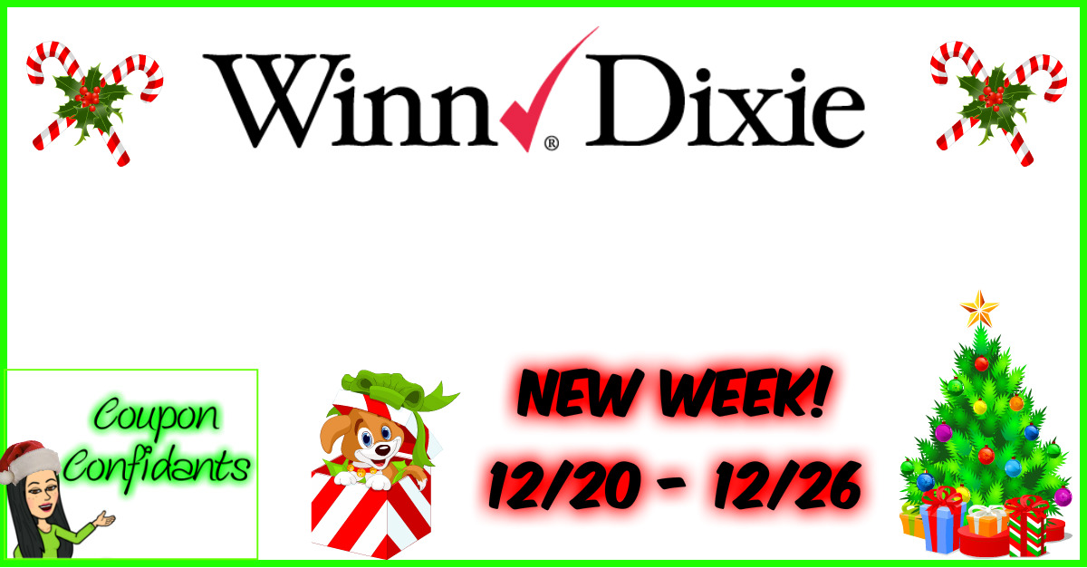Winn Dixie Best Deals 12/20 - 12/26