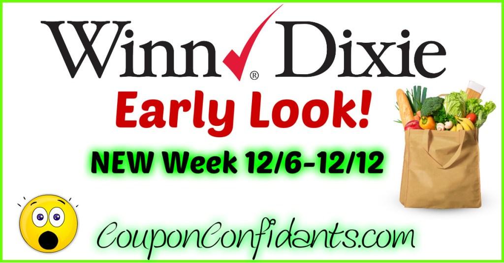 Winn Dixie Best Deals 12/6 – 12/12