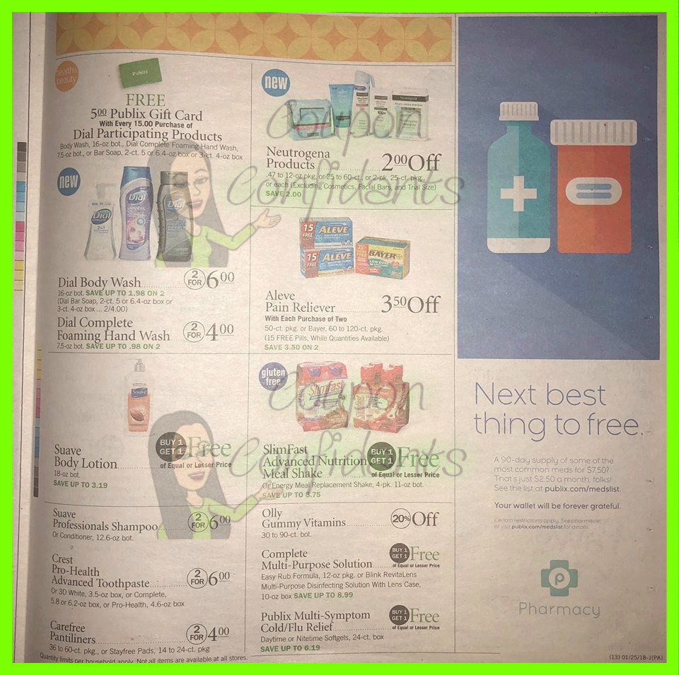Publix Ad Scan! 1/24-1/30 (1/25-1/31 for some) ⋆ Coupon
