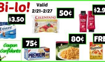 Bi-lo BEST Deals! 2/21 – 2/27
