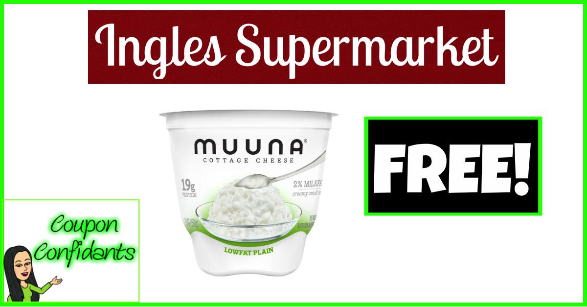 FREE Muuna Cottage Cheese at Ingles!