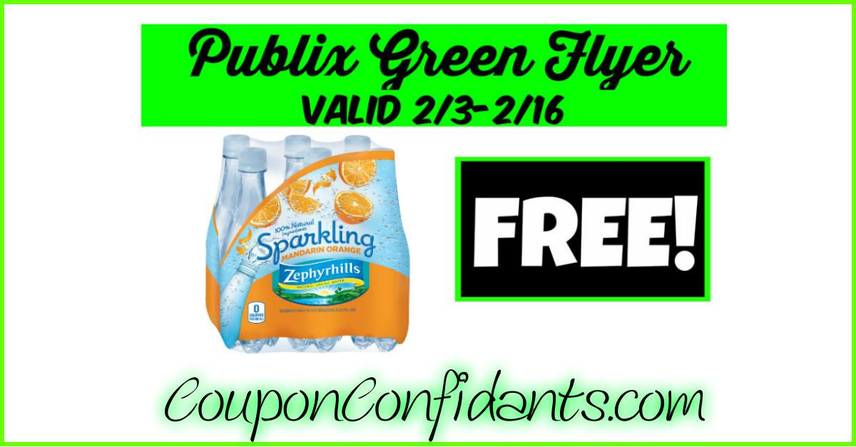 FREE Zephyrhills at Publix!