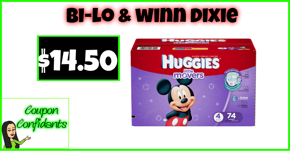 Huggies Giga Pack for $14.50 WOW!