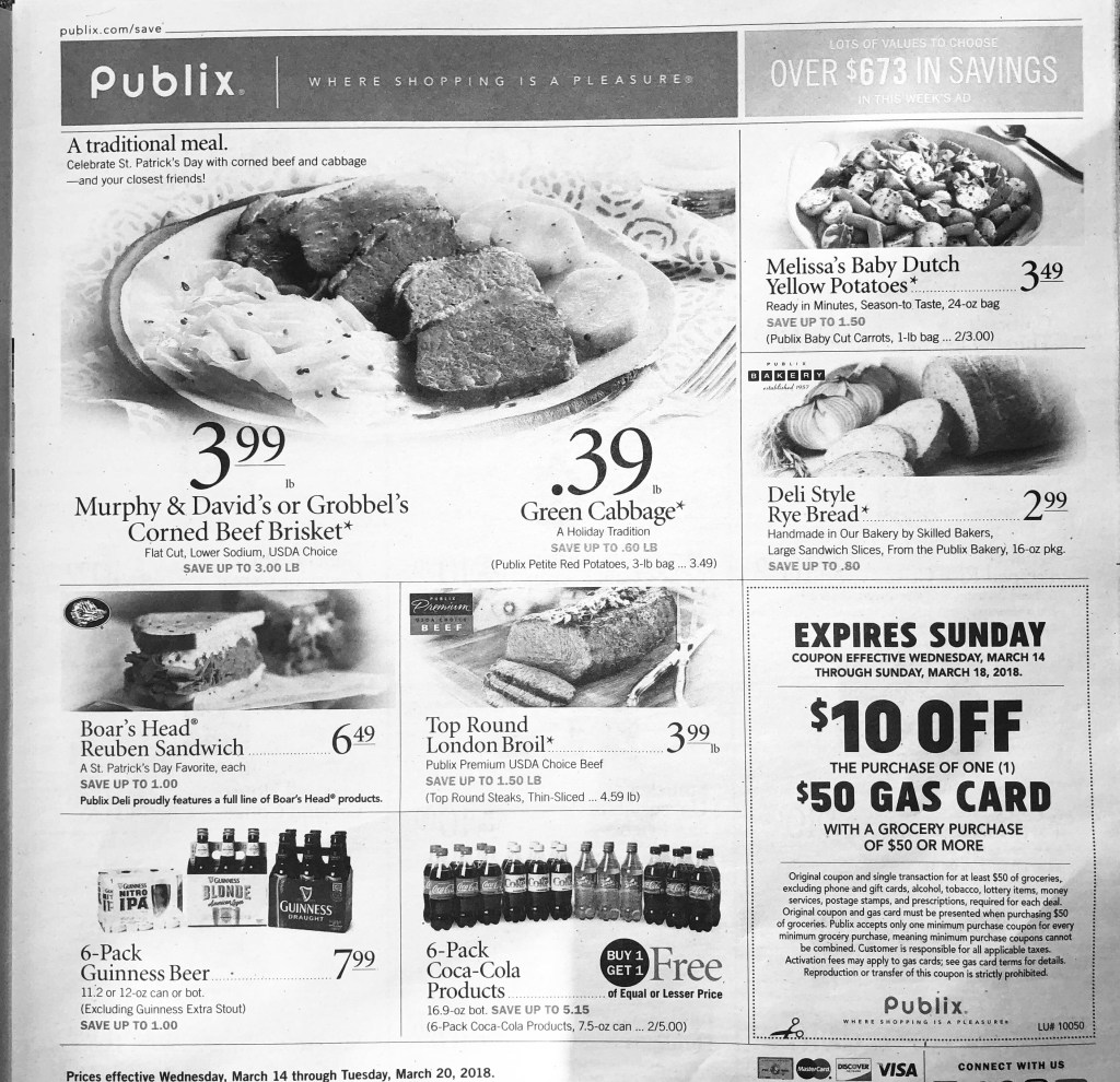 Publix Ad Scan!! 3/14-3/20 or 3/15-3/21