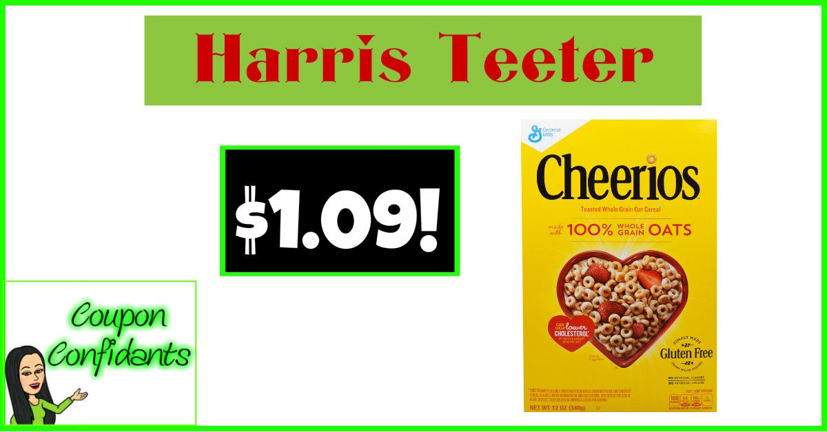 WHOA! Cheerios for $1.09! NICE!