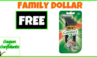FREE Bic Razors at Family Dollar!