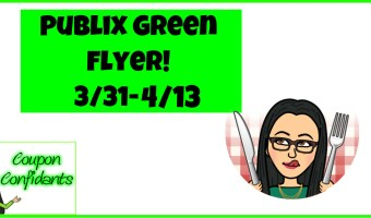 Publix Green Flyer Deals Mar 31 – April 13