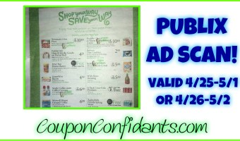 Publix Ad Scan NEW 4/25 – 5/1 or 4/26 – 5/2
