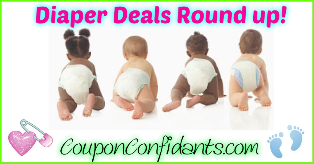 Diaper Deals Round up – ALL Stores!