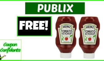 FREE for True BOGO! FREE Ketchup at Publix!