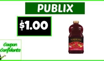 Northland Juice $1 at Publix!!