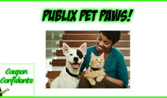 Publix Pet Paws Coupons – NEW!