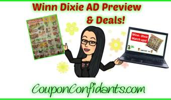 Winn Dixie Ad Preview & Match ups! 4/25 – 5/1