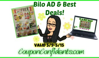 Bilo Ad Preview AND Best Deals! 5/9 – 5/15
