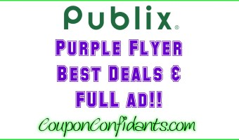 Publix Purple Flyer May 5 – May 18
