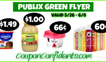 Publix – Green Flyer Deals May 26 – June 8