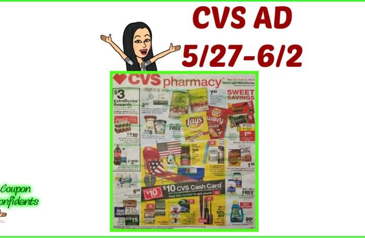 CVS AD Preview 5/27 – 6/2 Memorial Day Ad!