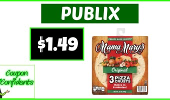 $1.49 Mama Mary Pizza Crust at Publix!