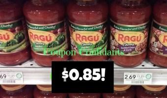 Ragu HOT price at Publix!!