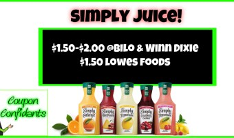 Simply Juice NEW coupon and current sale for it!