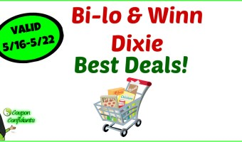 Bi-lo and Winn Dixie Must do Deals! 5/16 – 5/22