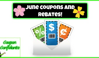 June 1st NEW Coupons AND Savingstar Rebates!!