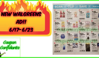 Walgreens Early AD for 6/17 – 6/23!