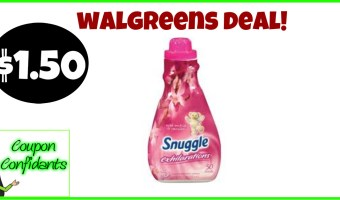 Snuggle as low as $1.50 at Walgreens!!