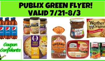 Publix Green Flyer 7/21 – 8/3