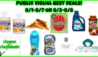 Publix Visual Deals 8/1-8/7 or 8/2-8/8