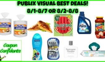 Publix Visual Deals 8/1-8/7 or 8/2-8/8