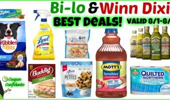 Bi-lo Best Deals 8/1-8/7
