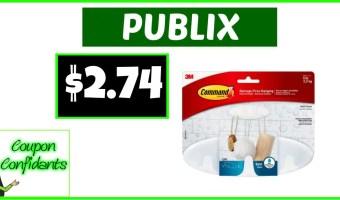 Command Hooks CHEAP at Publix!
