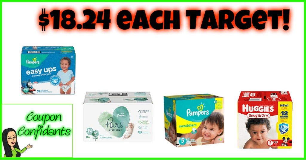 Target Diaper Deal  – (Target APP ONLY needed!!!) YAY!!