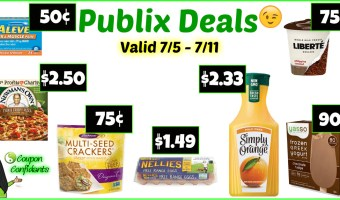 Publix Visual Deals July 5 – 11 (July 4 – 10 for some)