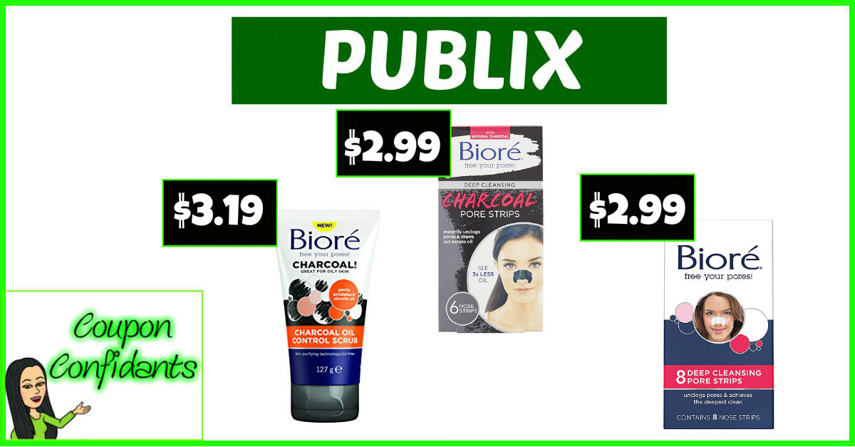 graphic regarding Printable Biore Coupons referred to as Inventory up upon Biore at Publix! ⋆ Coupon Confidants