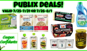 Publix Visual Best Deals 7/25-7/31 OR 7/26-8/1