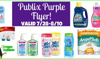 Publix Purple Flyer Deals 7/28 – 8/10