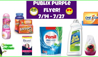 Publix Purple Flyer Best Deals 7/14 – 7/27!