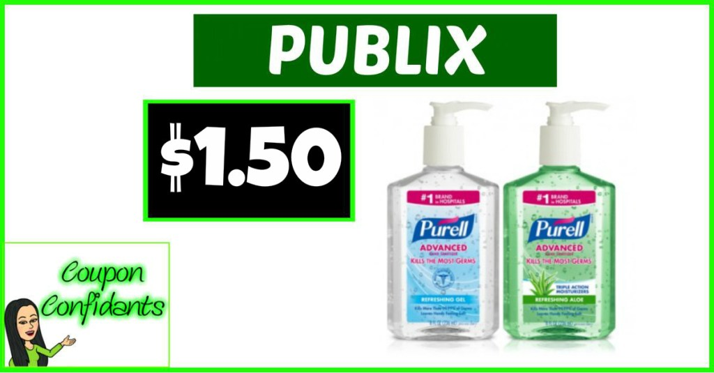 $1.50 for Purell at Publix! YES!