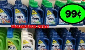 99¢ Purex at Walgreens!!
