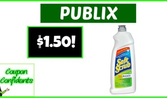 $1.50 Soft Scrub Cleaners at Publix!