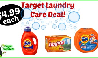 Laundry Care Deal at Target! YES!