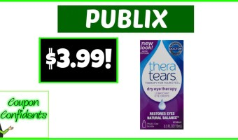 Thera Tears $3.99 (Normally $9.99) at Publix!