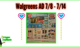 Walgreens AD Preview July 8 – 14 2018